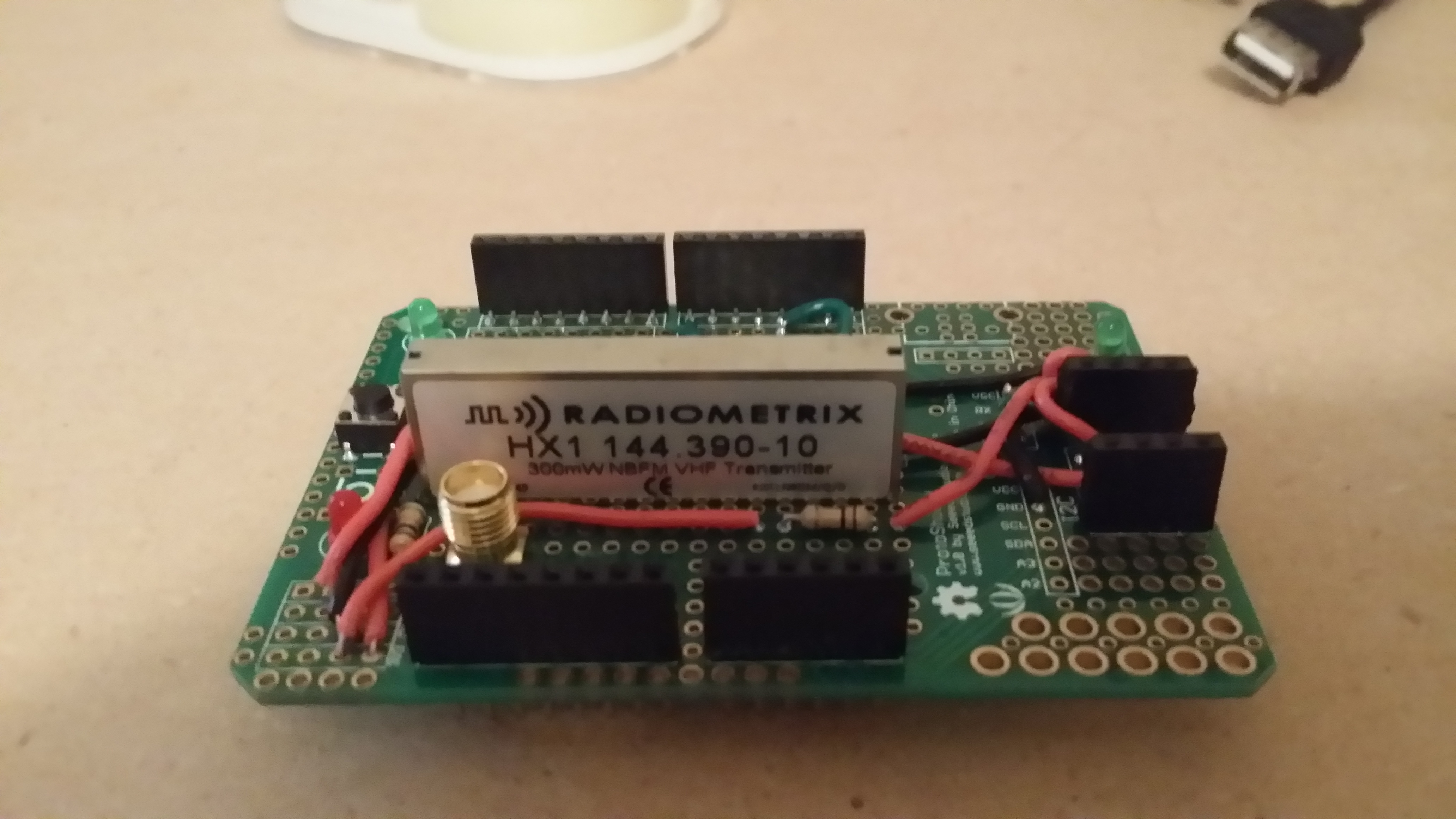 Reverse engineering my own APRS tracker… – Chapman World
